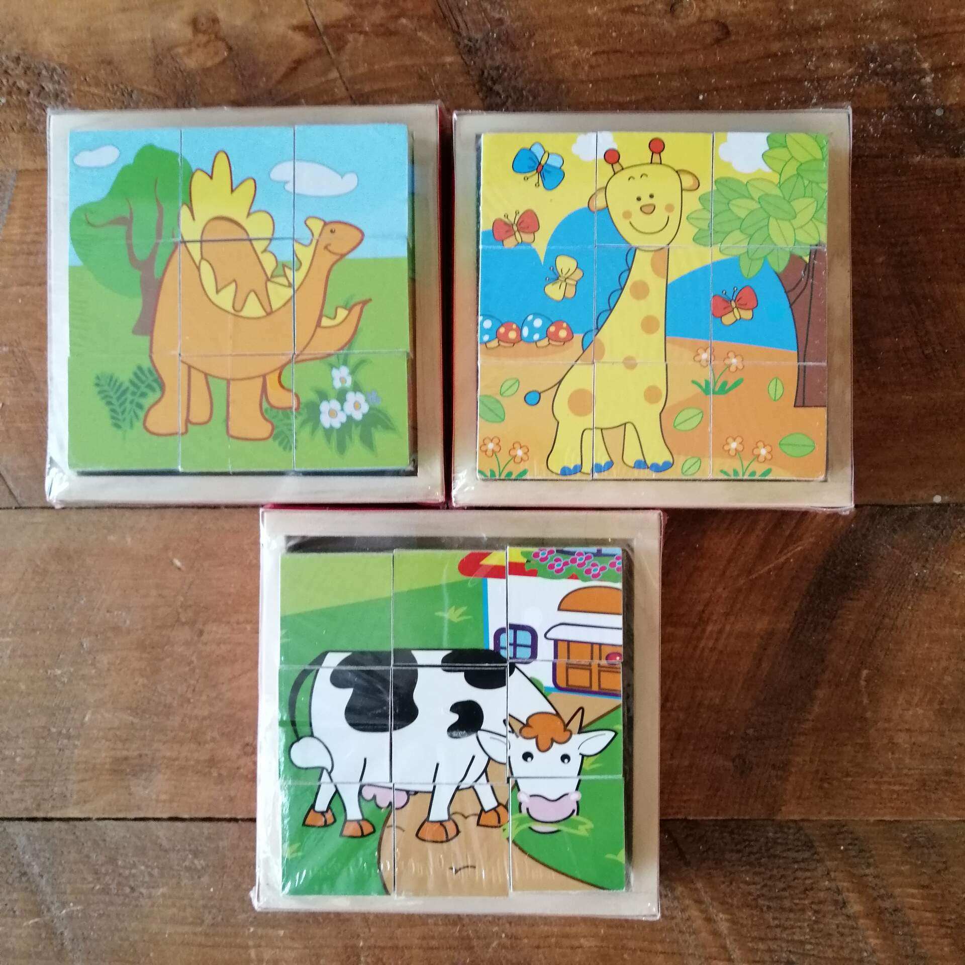 Bigjigs Wooden Puzzles