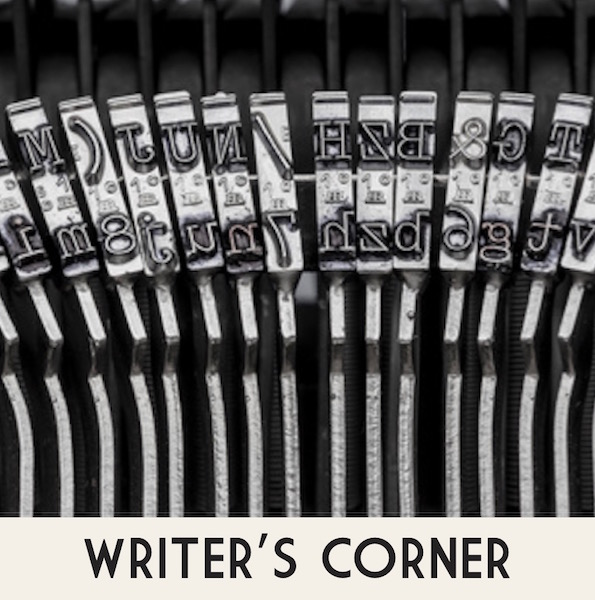 Writer's Corner - tips on how to become a published author