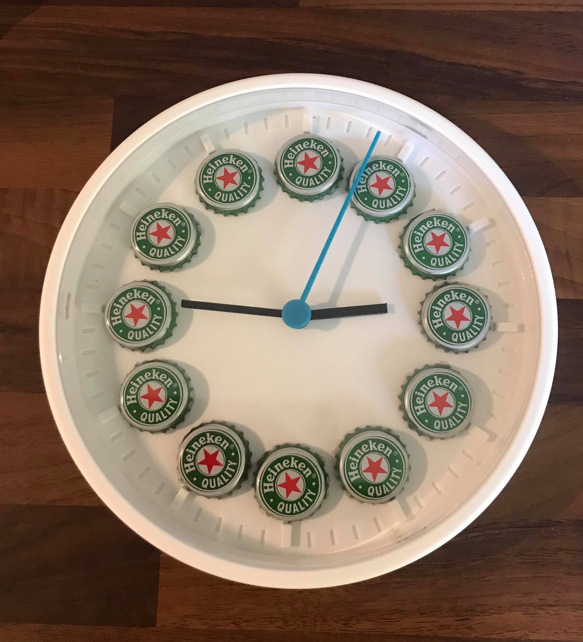 Heiniken Beer Clocks