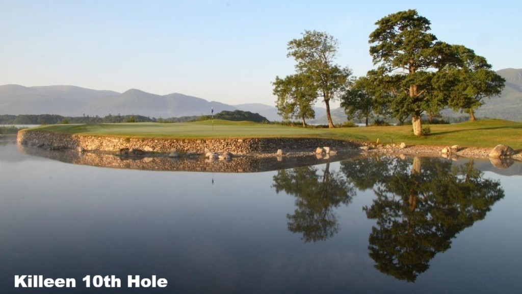 The 10th Hole at Killeen Golf Course, County Kerry, Ireland