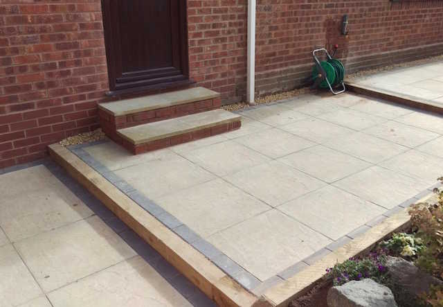 County Groundforce Ltd Tamworth install patios for homeowners throughout Tamworth