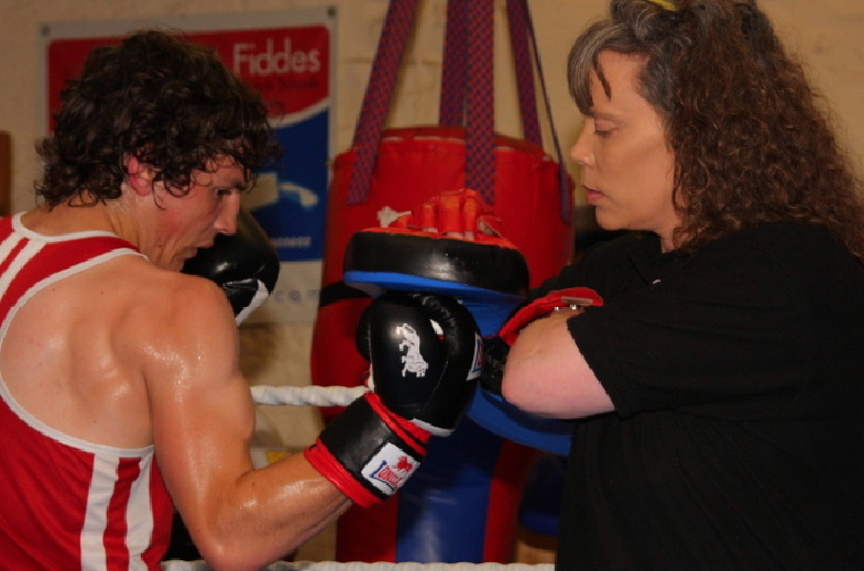 Boxing at AA Fitness Studio Dumfries