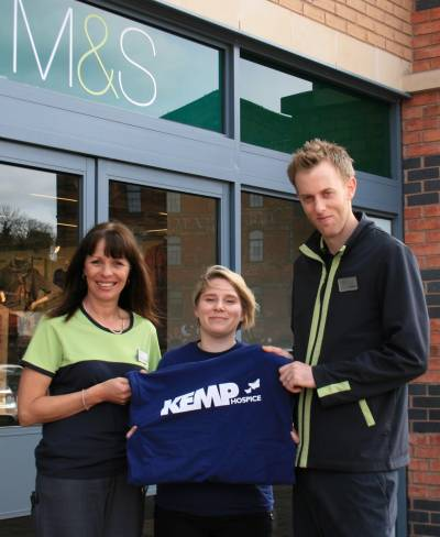 M&S Kidderminster Pledges its Support for KEMP Hospice