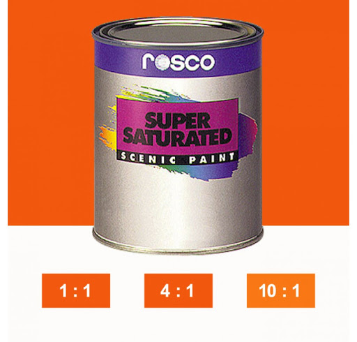 Rosco Supersaturated Paint Moly Orange 5984 1 Litre