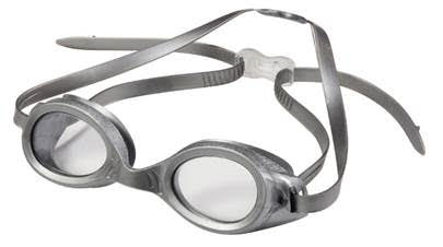 Hilco Stingray Adult regular fit swim goggles Grey