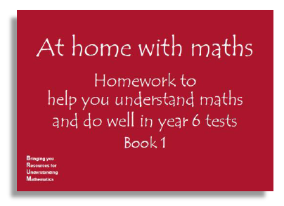 At home with maths book 1