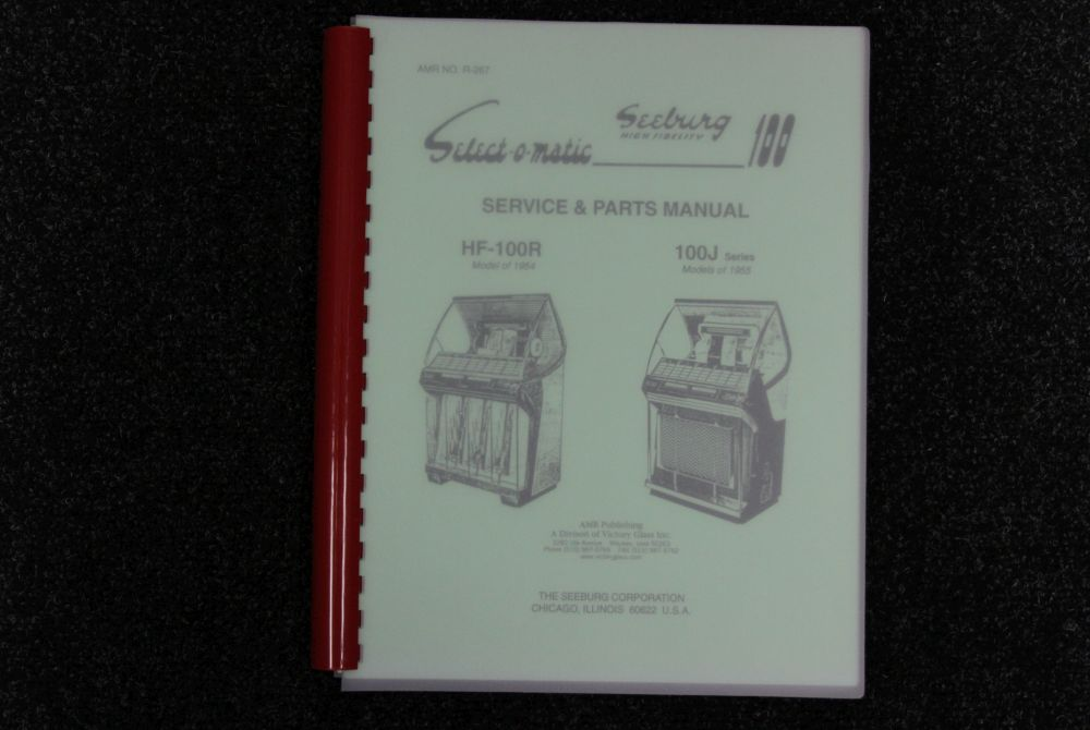 Seeburg - Service and Parts Manual HF-100R, 100 J Series
