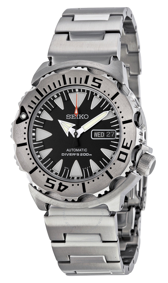Seiko Monster 4R36- SRP307 Black-  full set (Sold)