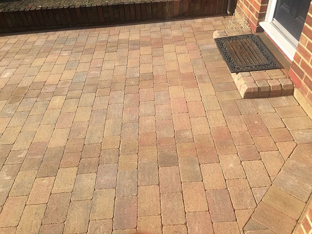 Block paving companies Staines Middlesex