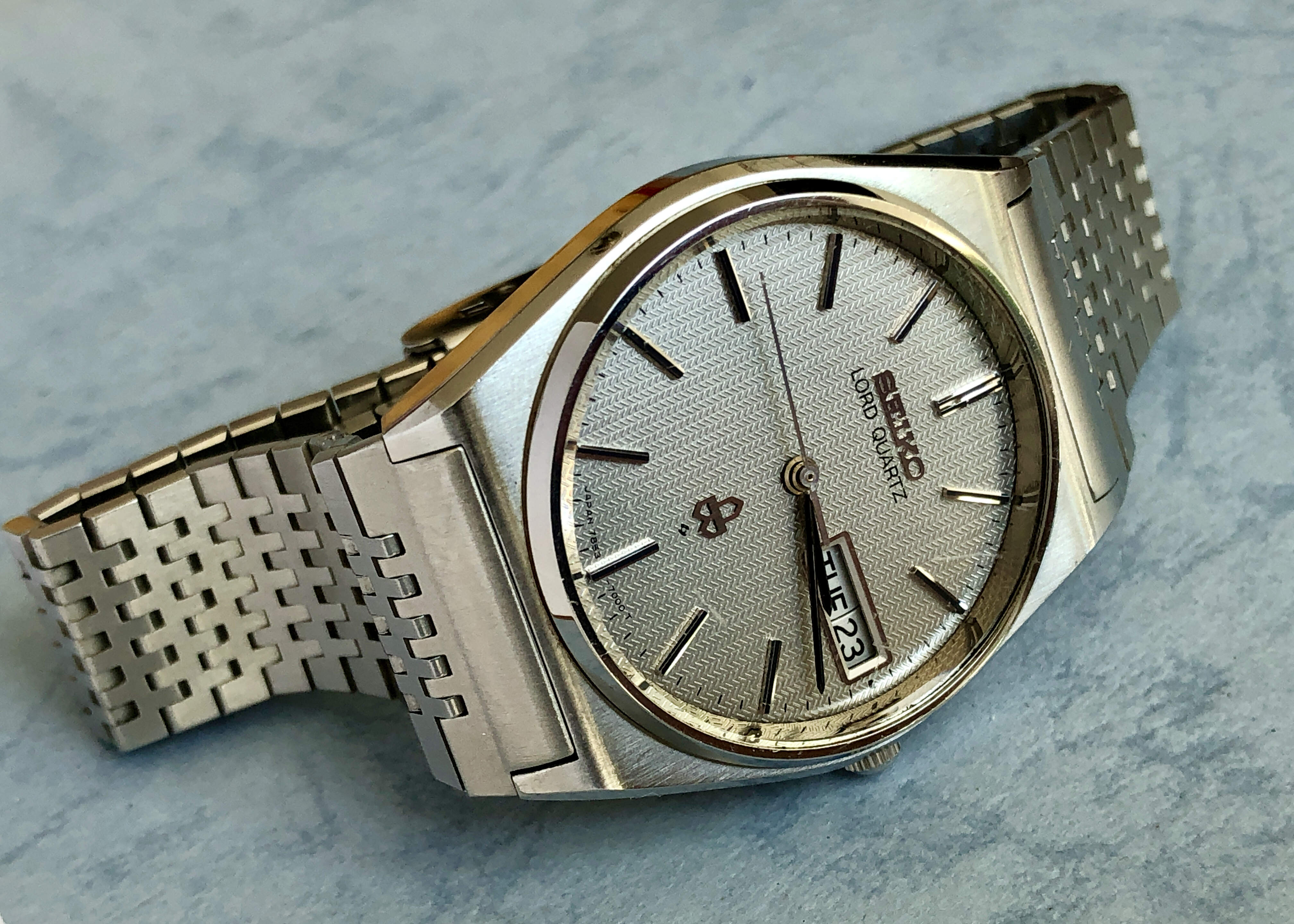 Seiko Lord Quartz 7853-7000 QGZ060 (Sold)