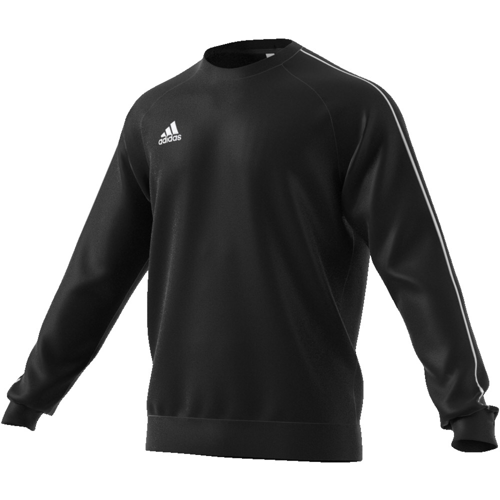 Adidas Core 18 Crew Top Black-White