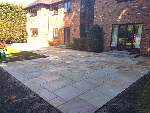 Patio installation in Ascot by Block Paving Surrey