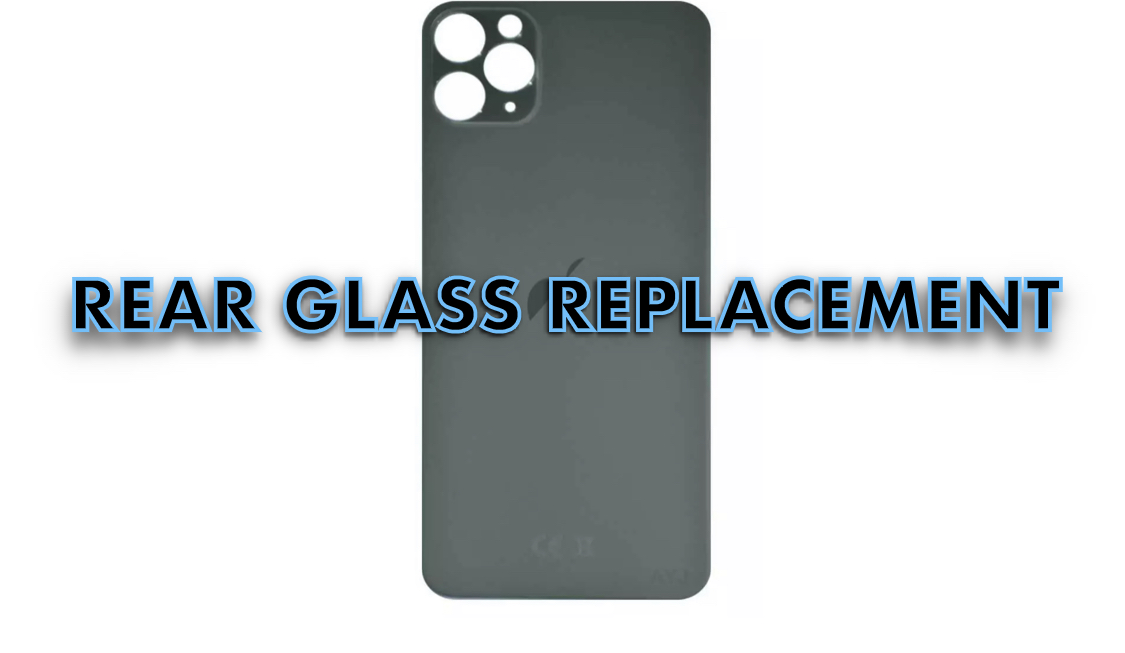 iPhone 11 Pro Rear Glass
