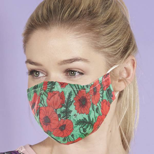 POPPY Eco Chic Reusable Face Cover