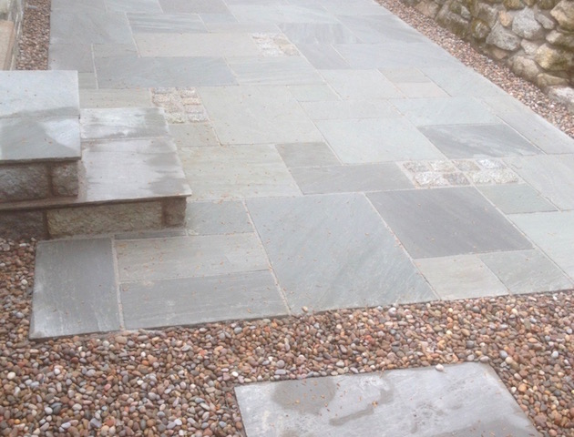 Natural Stone Patios by Creative Gardens Dalbeattie