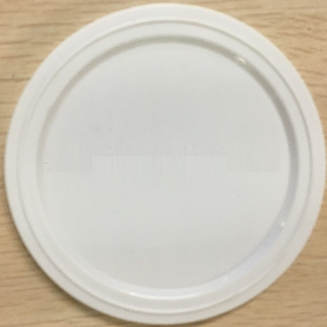 White 153mm Diameter Plastic Lids