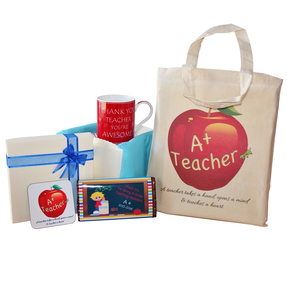 Teaching Assistant Gift - with Blue Theme