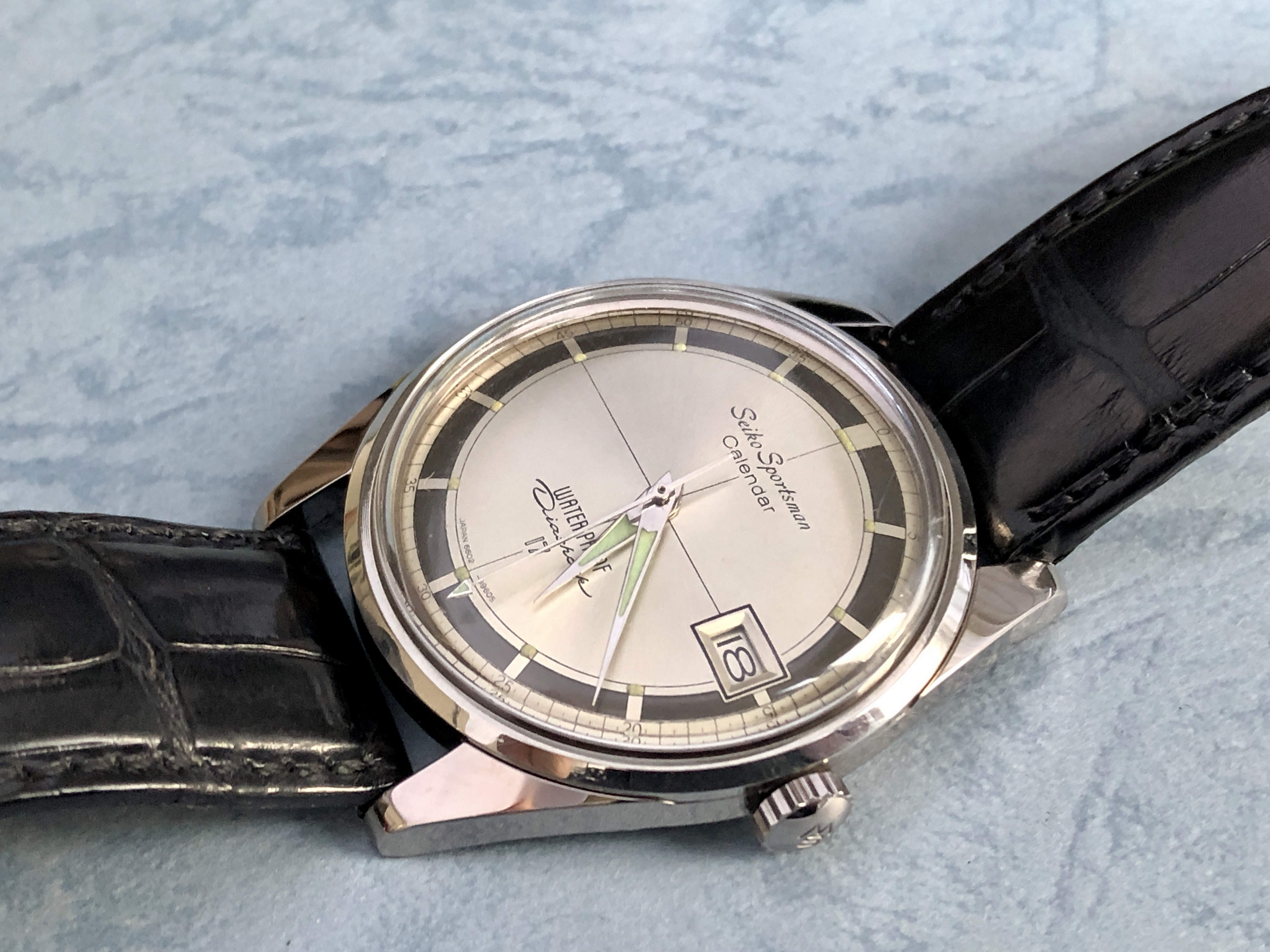 Seiko Sportsman 6602-9960 (Sold )