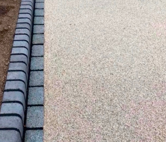 Resin bound driveways Sunningdale