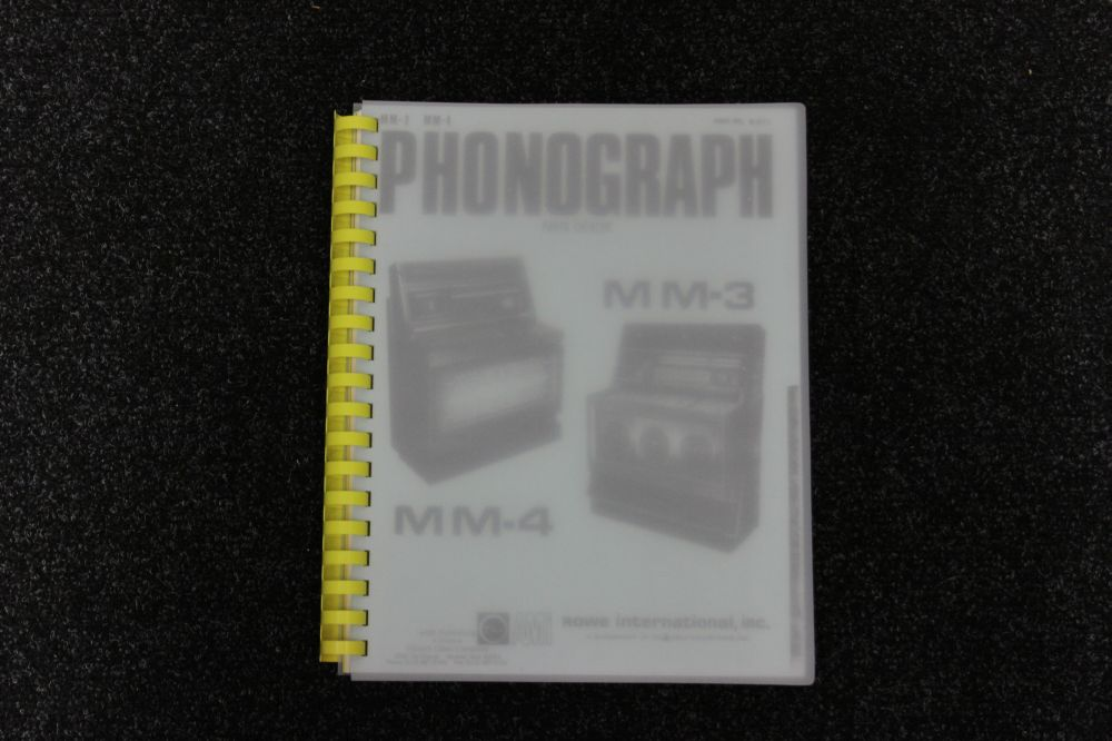 AMI- Parts catalog MM3, MM4