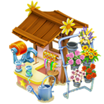 Flower Shop / Lvl. 49 / 120.000