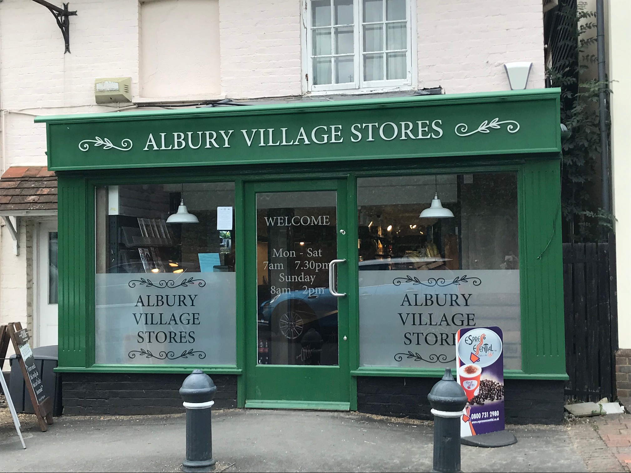 New Stockist - Albury Village Shop Guildford, Surrey. GU5 9AG.
