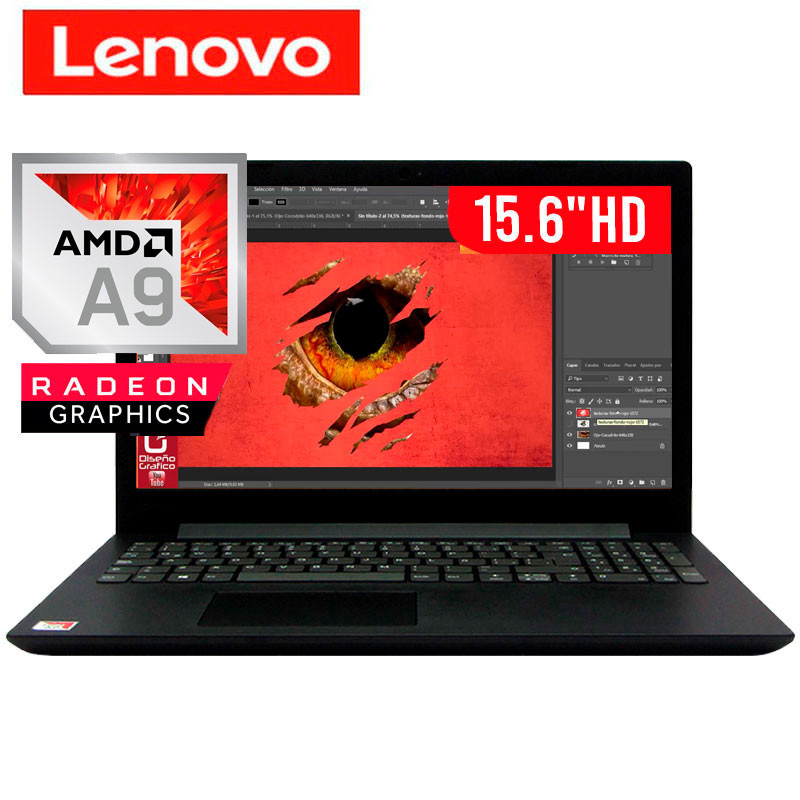 Lenovo V145 AMD A9-9425 8GB 256GB SSD 15.6 inch FHD Windows 10 Pro Laptop