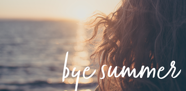 The Truth Behind Beauty - Bye summer