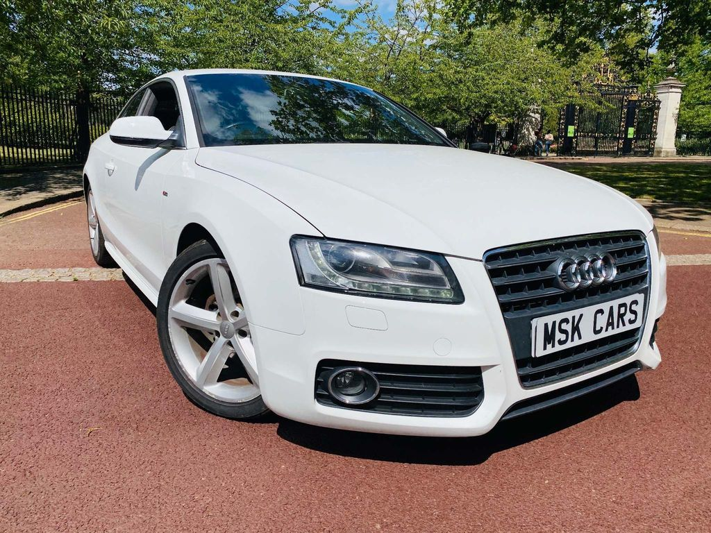 Audi A5 S-Line Black Edition Coupe