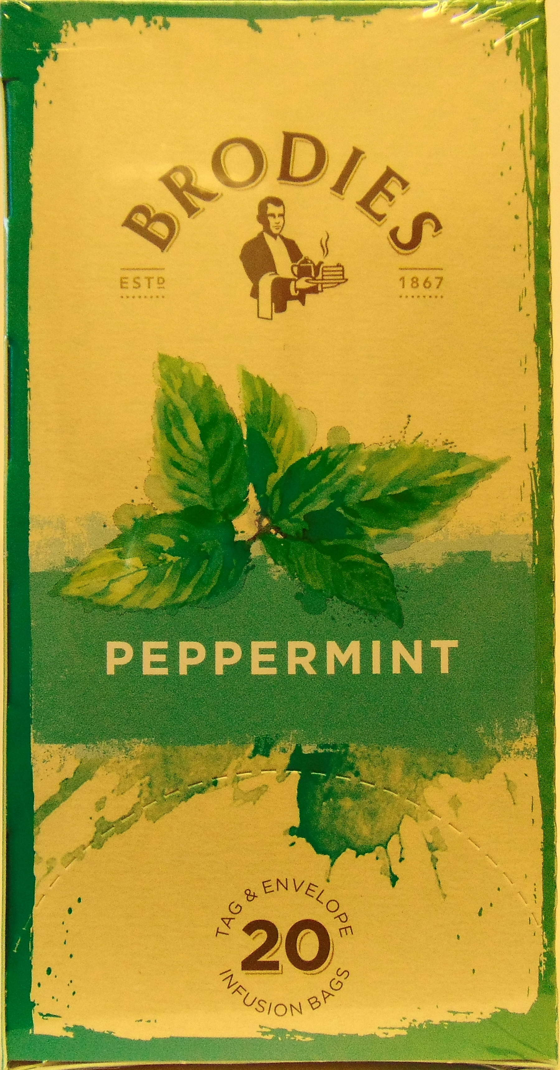 Brodie Melrose Peppermint Tea 86g