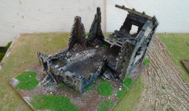 RUINED FARMHOUSE WARLORD GAMES BOLT ACTION