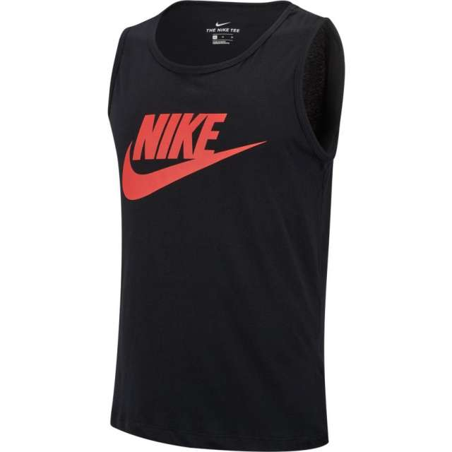 Nike NSW Tank Vest Black-Red