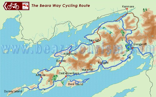 Beara Way Cycling Route