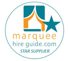 WC in Fields is Marquee Hire Guide Star Supplier