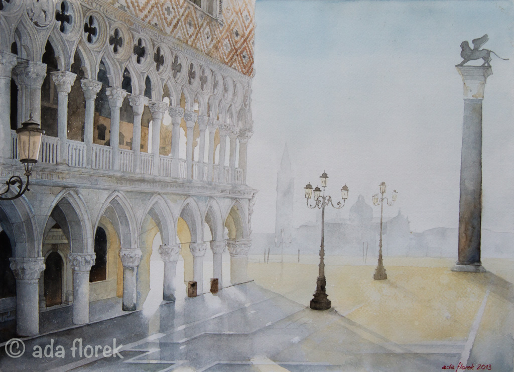 watercolor 48x36, Clairfontaine Etival 300g