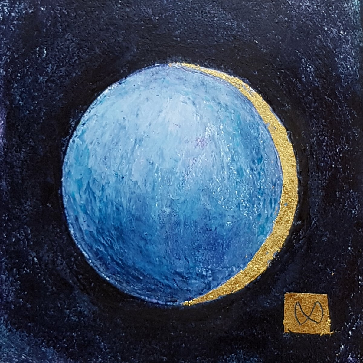 The Moon, lunar eclipse, Earth's shadow, brightness, darkness, teal purple, light blue