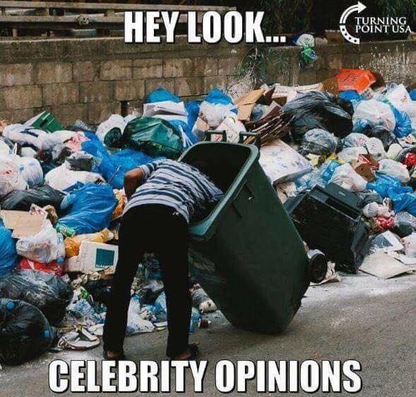 Celebrity opinionsjpeg