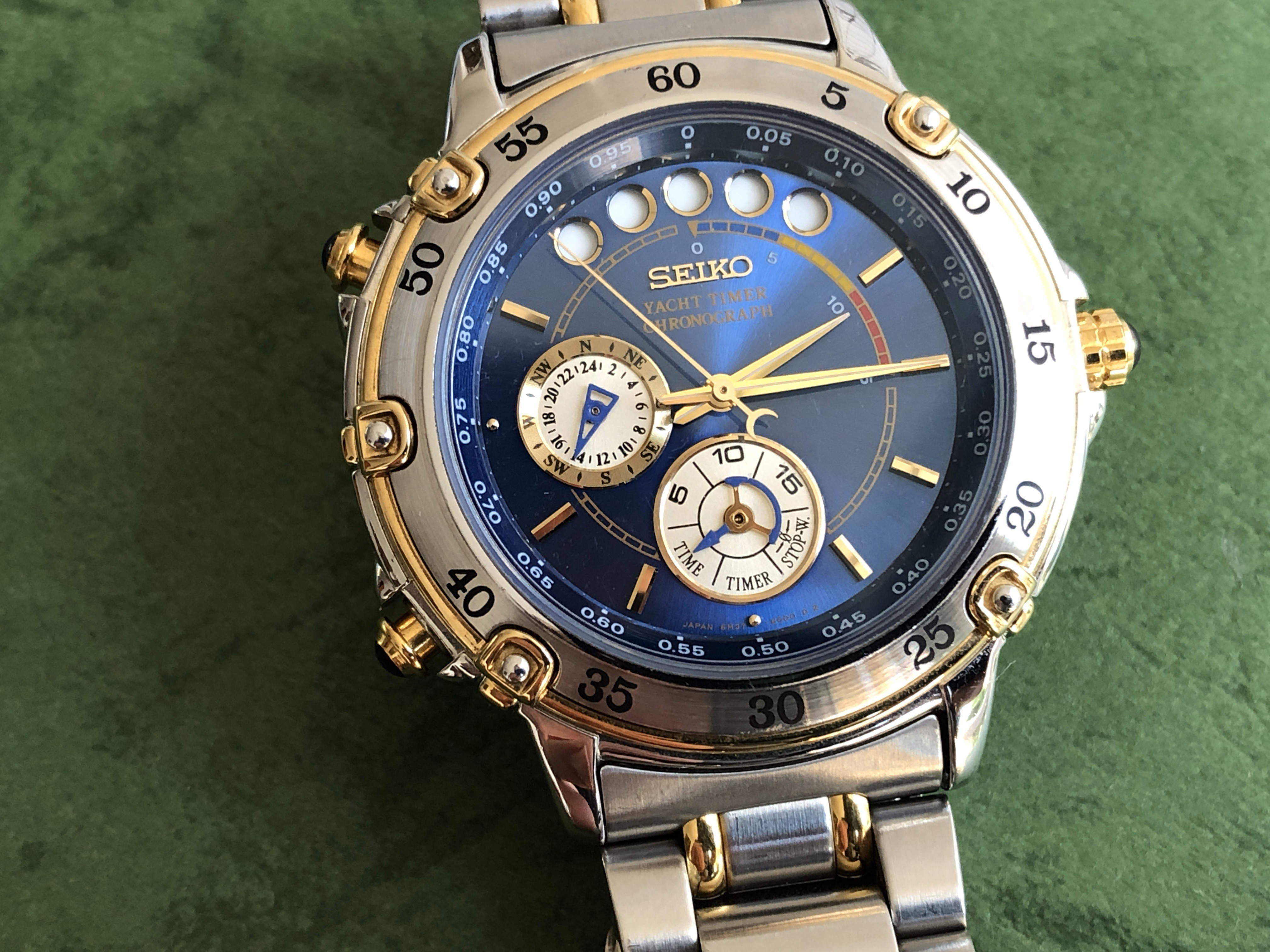 Seiko Yacht Timer 6M37-6000 SBDC001 (For sale)