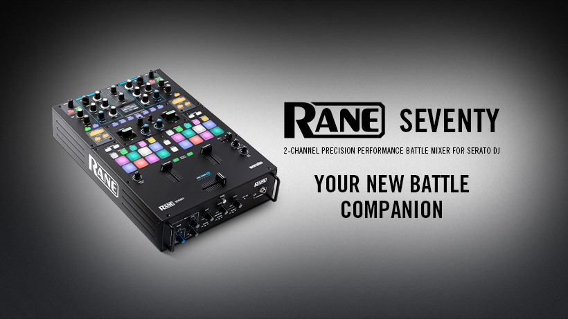 New Rane battle mixer announced
