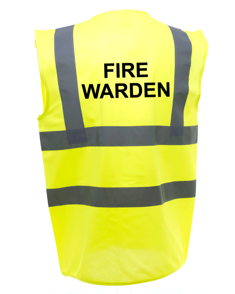 Fire Warden Safety Vests