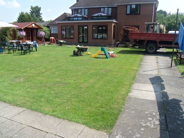 Patio builders Egham, Surrey