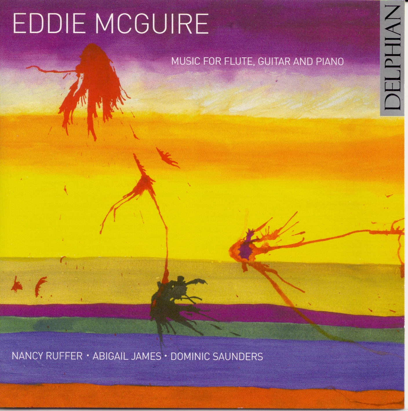 cd cover eddie mcguire music for flute guitar and piano 2006jpg