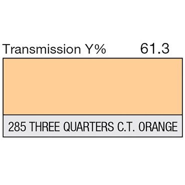Lee 285 Three Quarters C.T. Orange Roll