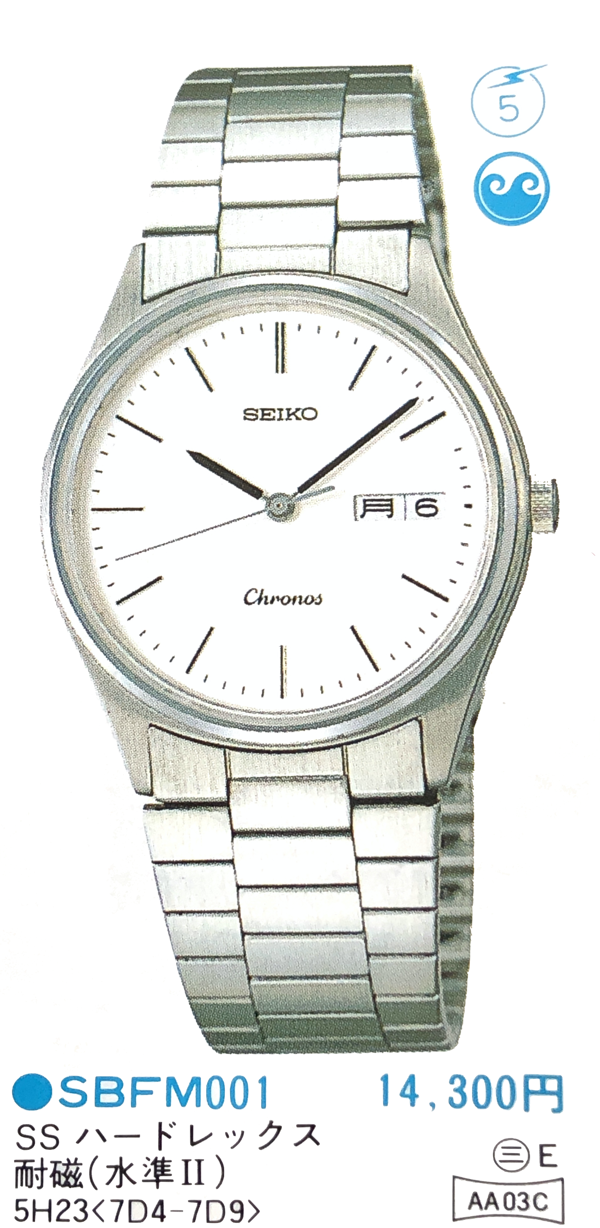Seiko Chronos 5H23-7D40 SBFM001 NOS (For sale)