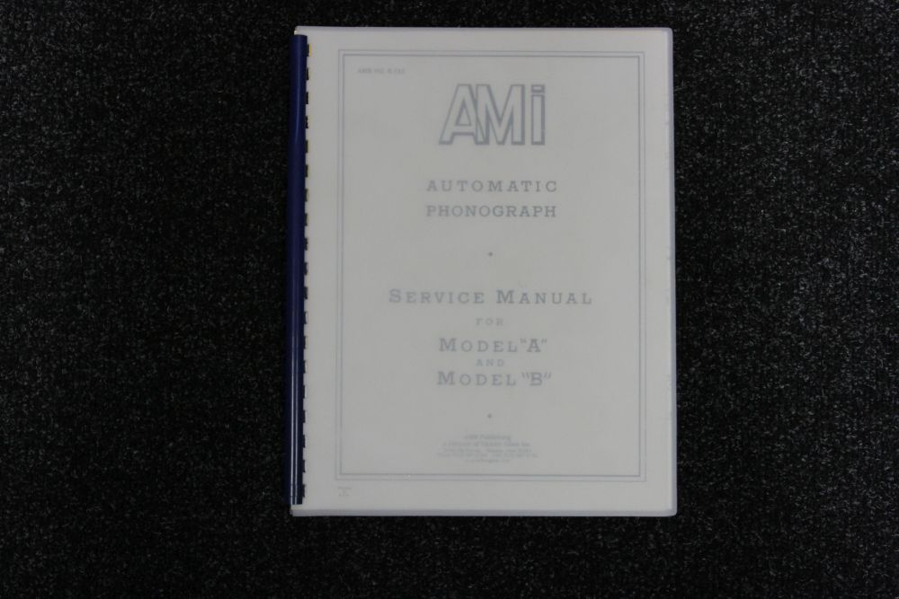 AMI - Service Manual Model A and B