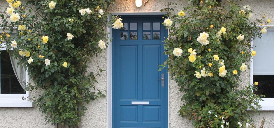 Blue door, Ral no. 5009