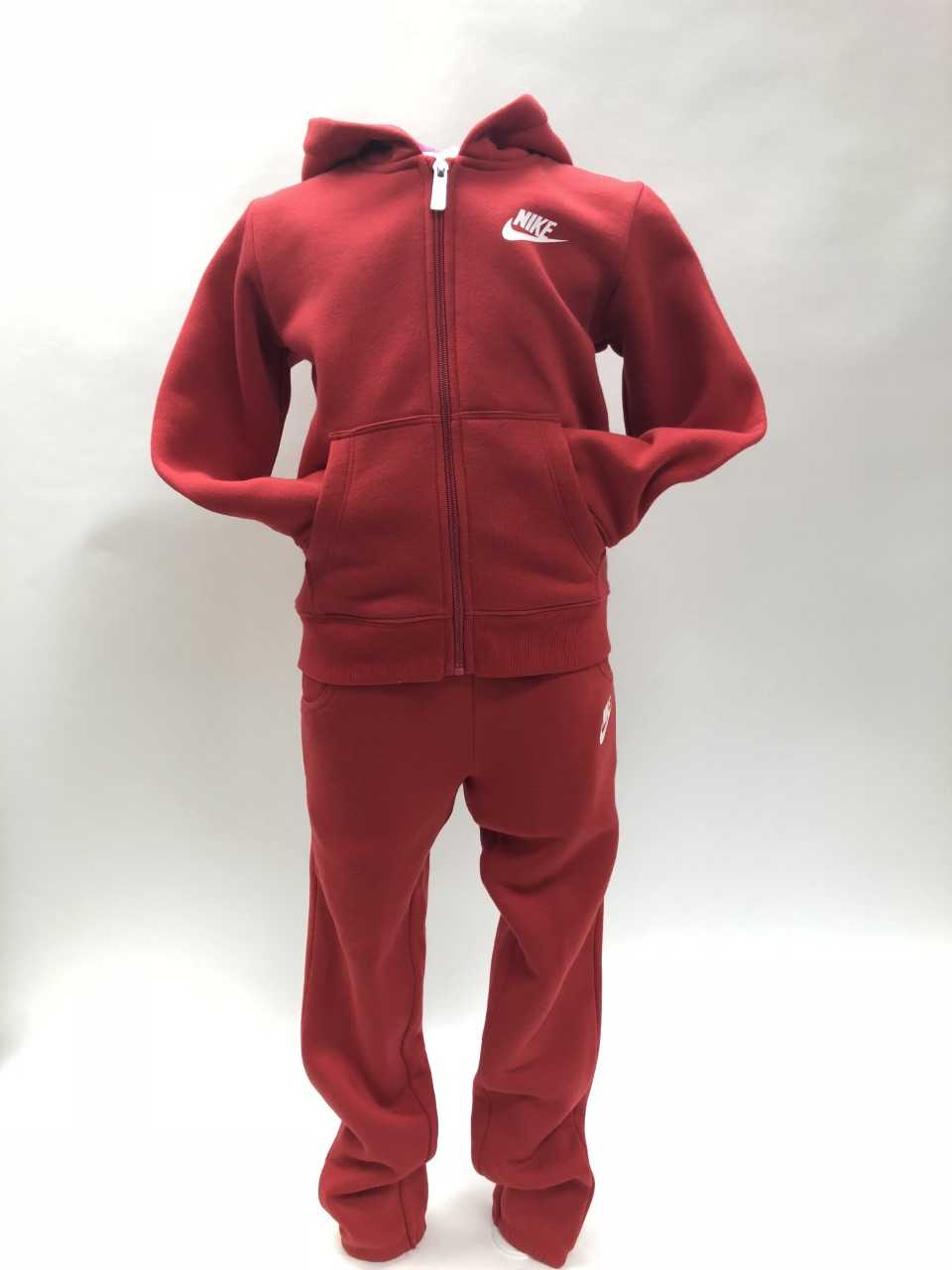 Nike NSW Tracksuit Red-Pink-White
