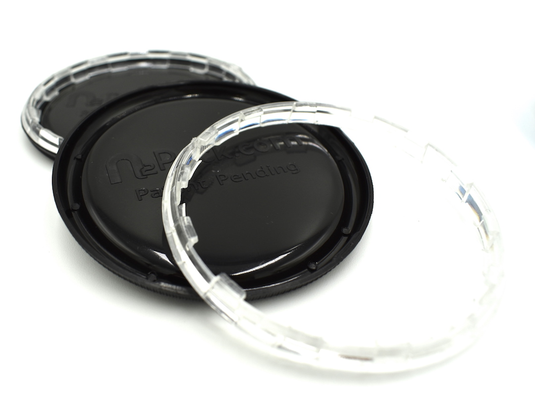 100 New Child Safety Lids 65mm Diameter