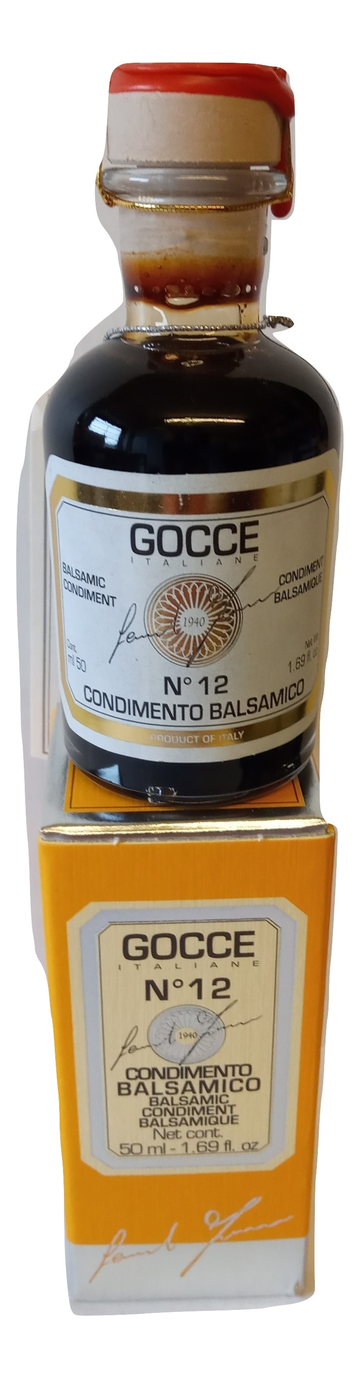 Gocce No 12  Balsamic Condiment
