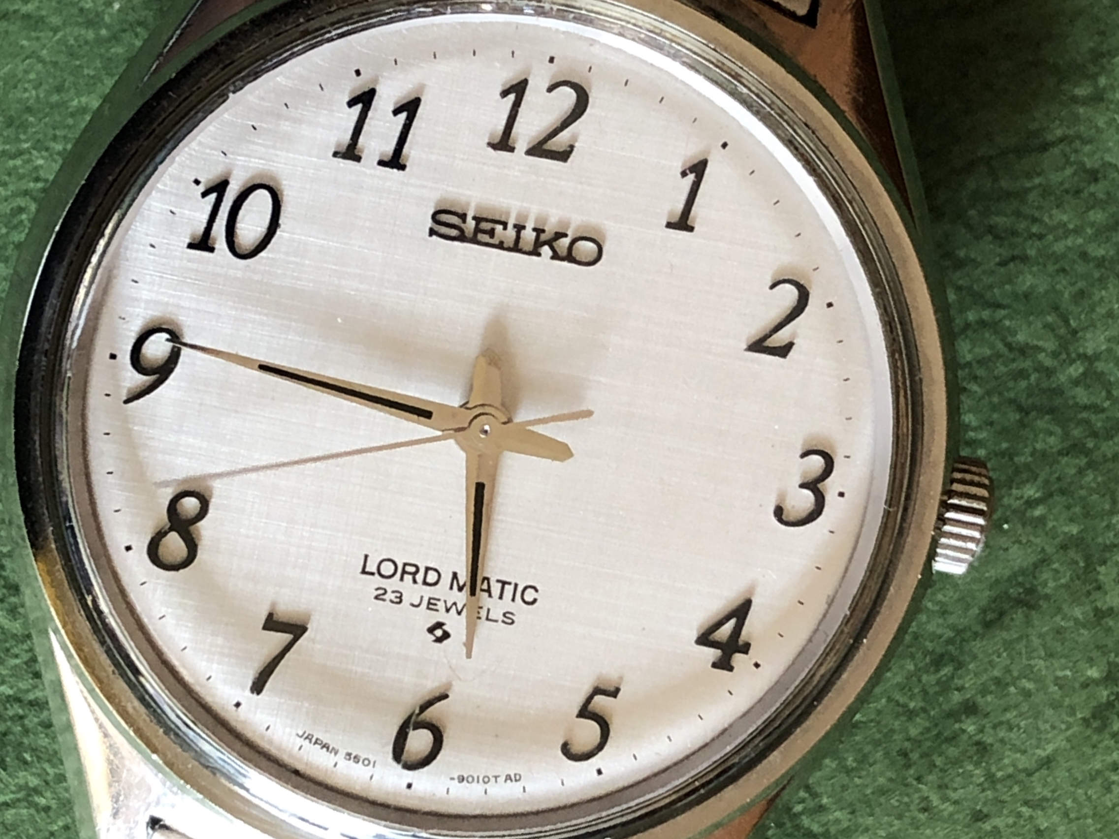 Seiko Lord-Matic 5601-9000 (For sale)